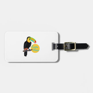 TOUCAN COSTA RICA TAG FOR LUGGAGE
