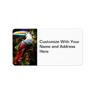 Toucan Customizable Address Labels