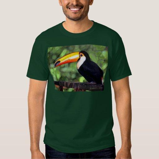 'Toucan' dark T-shirt