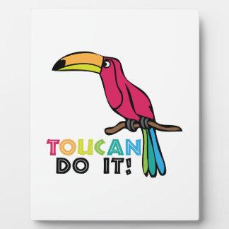 Toucan Do It Photo Plaques
