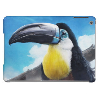 Toucan en la pintura tropical digital del pájaro d