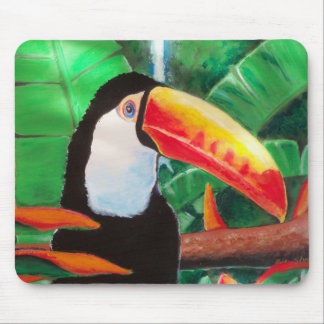 Toucan Exotic Wildlife Animal Bird Art MousePad