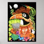 Toucan Fantasy Art Design Posters