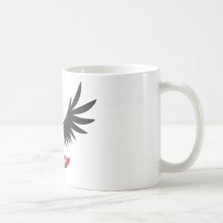 Toucan feliz taza básica blanca