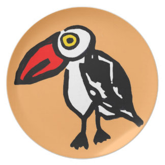 Toucan if you Can Plate