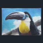 "Toucan in Misty Air digital tropical bird painting Placemat<br><div class=""desc"">ArtRage 3.5.0   PS CS Digital painting.</div>"