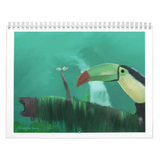 Toucan in the Rainforest Wall Calendars