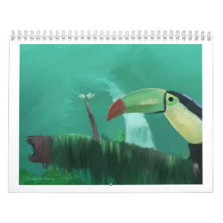 Toucan in the Rainforest Calendar