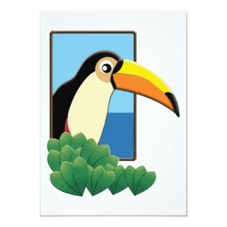 Toucan in the Window Card