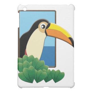 Toucan in the Window iPad Mini Covers
