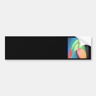 Toucan intrépido etiqueta de parachoque