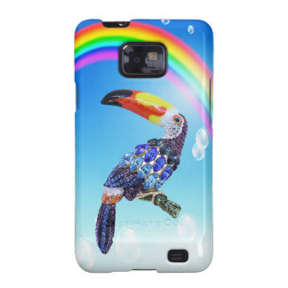 Toucan Jewel & Rainbow Samsung Galaxy Case Galaxy S2 Covers
