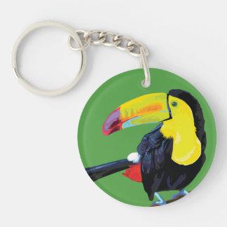 Toucan Keyring