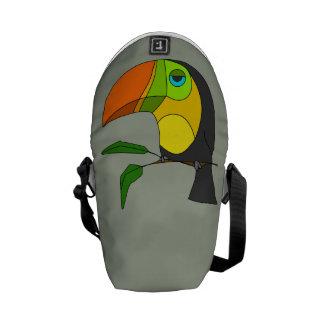 Toucan Messenger Bag