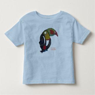 Toucan Mosaic Customizable Toddler T-Shirt