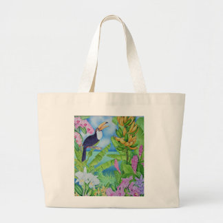 Toucan of the Amazon Large Tote Bag