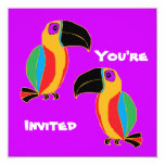 Toucan Party Personalized Announcement