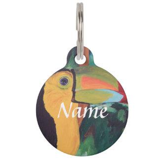 Toucan Pet ID Tag