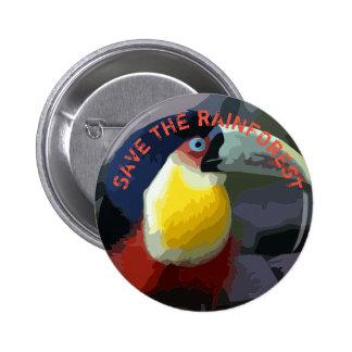 Toucan Pinback Button