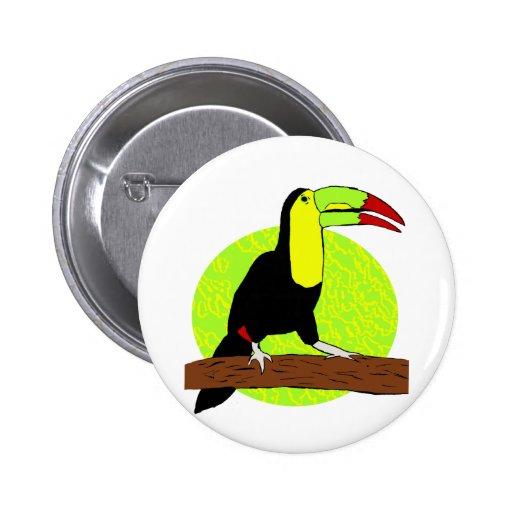 Toucan Pins