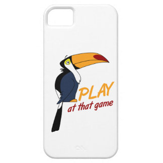 Toucan Play At That Game iPhone SE/5/5s Case