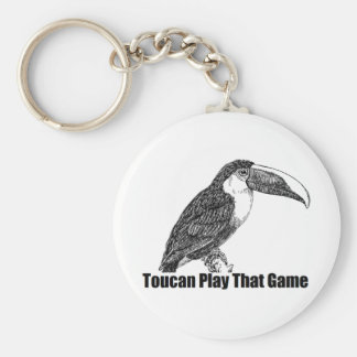 Toucan Play That Game Keychain