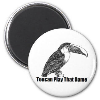Toucan Play That Game Magnet