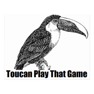 Toucan Play That Game Postcard