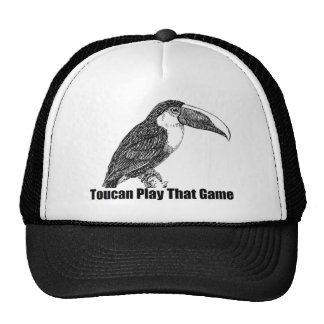 Toucan Play That Game Trucker Hat
