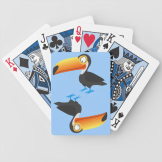 Toucan Bicycle Poker Cards