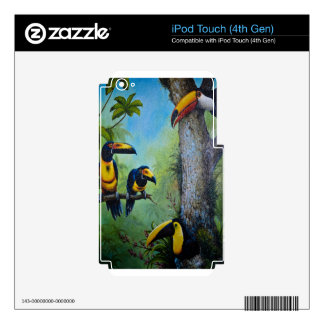 Toucan Plunder Party.jpg Decal For iPod Touch 4G