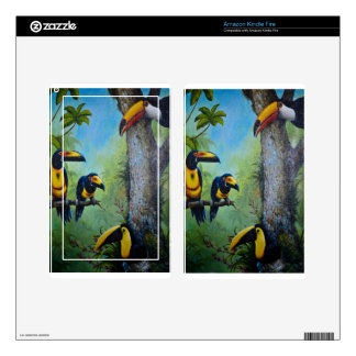 Toucan Plunder Party.jpg Skin For Kindle Fire