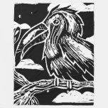 Toucan Print Fleece Blanket