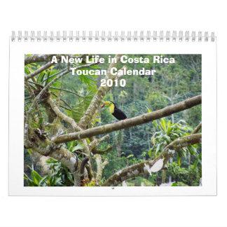 Toucan Quilla-Cargado en cuenta Calendario De Pared