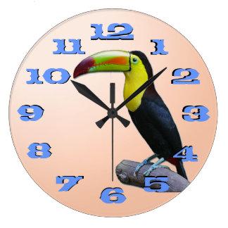Toucan Reloj Redondo Grande