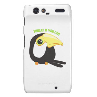 Toucan si usted puede droid RAZR carcasas