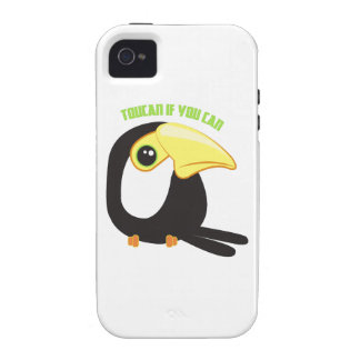 Toucan si usted puede iPhone 4 funda