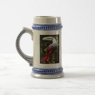 Toucan Stein Coffee Mug