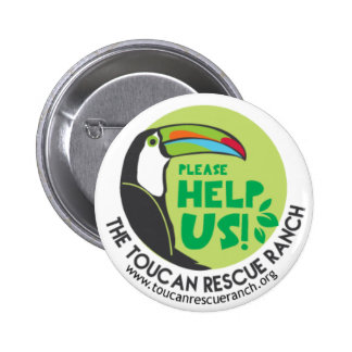 Toucan Support Badge Pinback Button