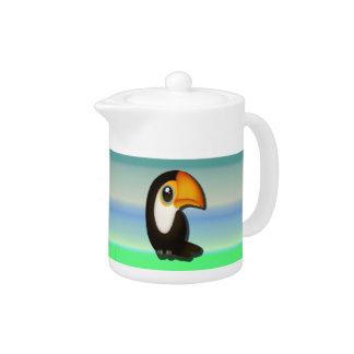 Toucan Teapot