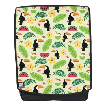 Toucan Tropical Summer Pattern Backpack