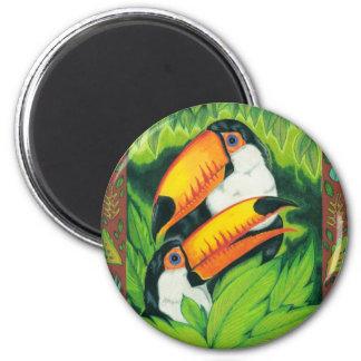 Toucan Tropics Magnet