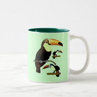 Toucan Two-Tone Coffee Mug