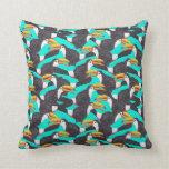 Toucan [verde] almohada