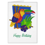 Toucan Window Perch Cards