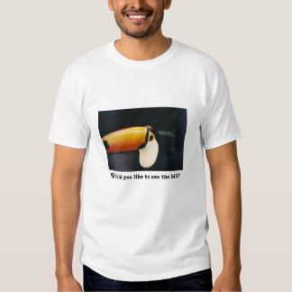 Toucan:  Would you like to see the bill? Shirt