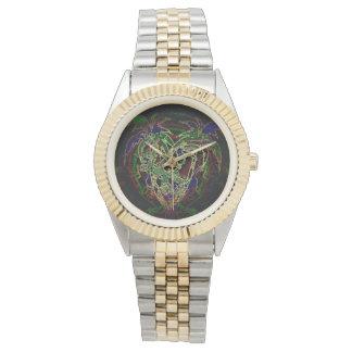 Toucan y palmera reloj