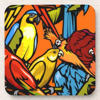 Toucans coaster