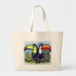 Toucans Large Tote Bag