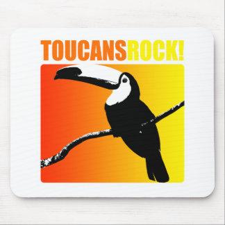 Toucans Rock! Mouse Pad